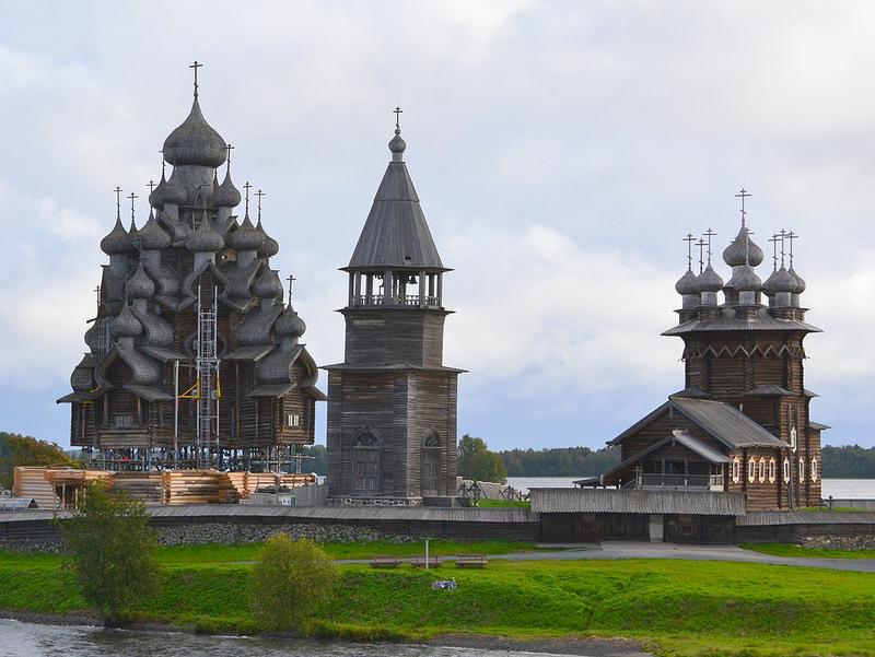 キジ島の木造教会の画像12
