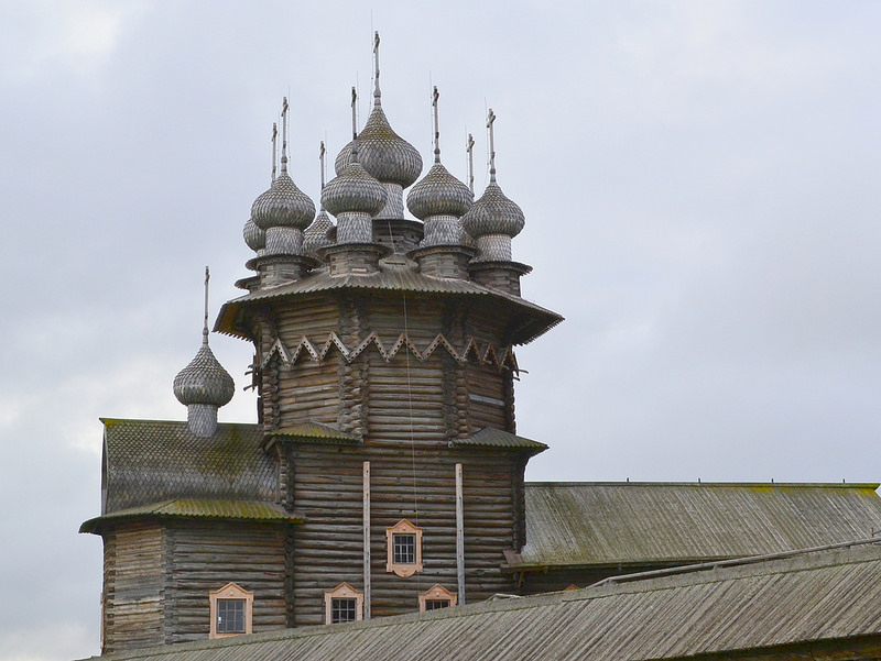 キジ島の木造教会の画像15