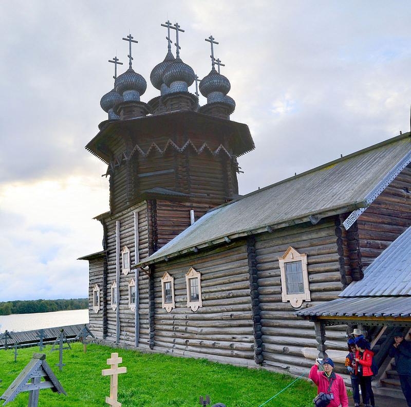 キジ島の木造教会の画像16