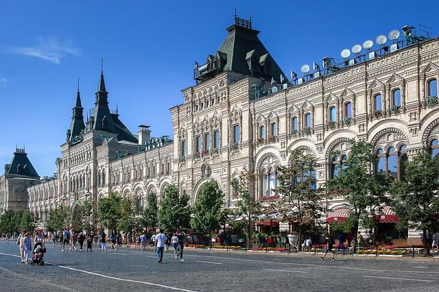 モスクワのクレムリンと赤の広場の画像9