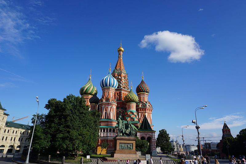 モスクワのクレムリンと赤の広場の画像25