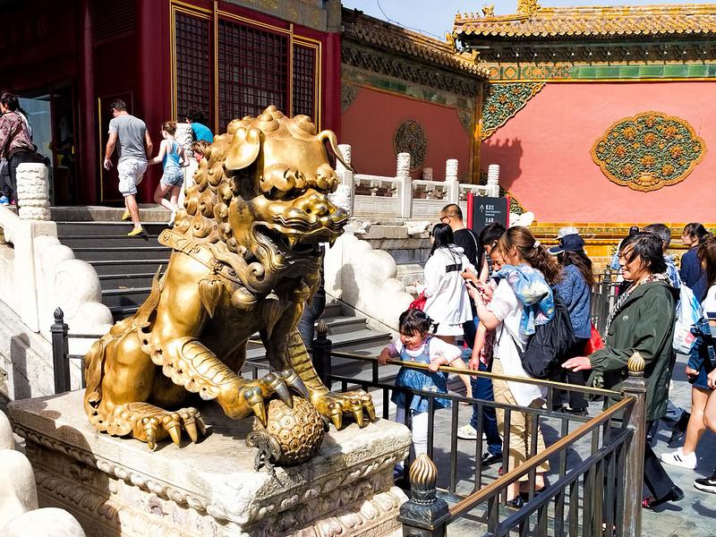 北京と瀋陽の故宮の画像8