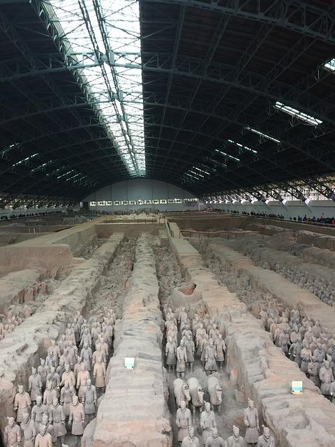 始皇帝陵と兵馬俑坑の画像2