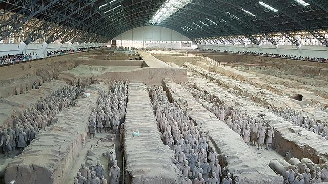 始皇帝陵と兵馬俑坑の画像1