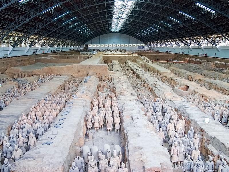 始皇帝陵と兵馬俑坑の画像3