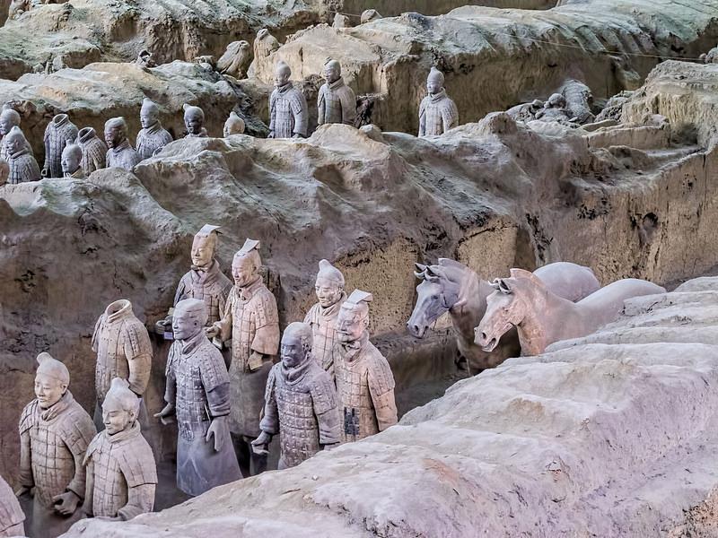 始皇帝陵と兵馬俑坑の画像4