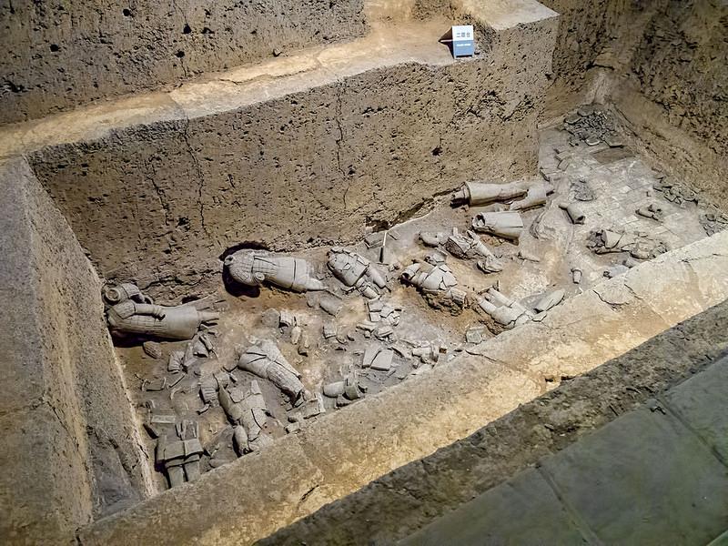 始皇帝陵と兵馬俑坑の画像6