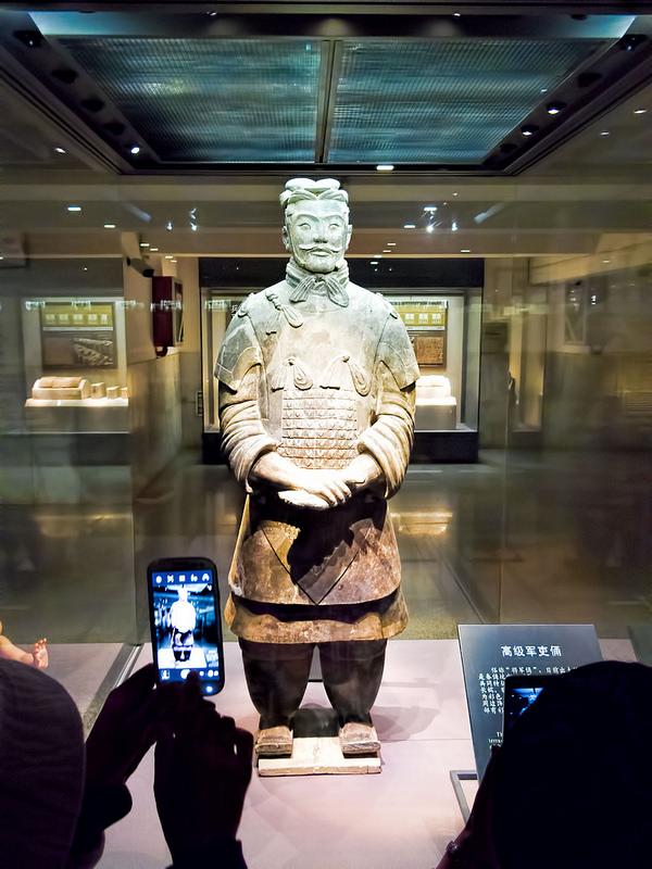 始皇帝陵と兵馬俑坑の画像8