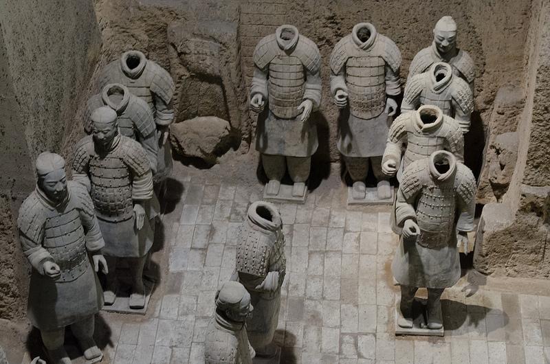 始皇帝陵と兵馬俑坑の画像18