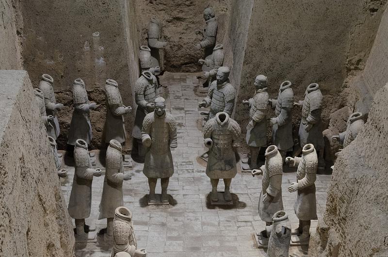 始皇帝陵と兵馬俑坑の画像20