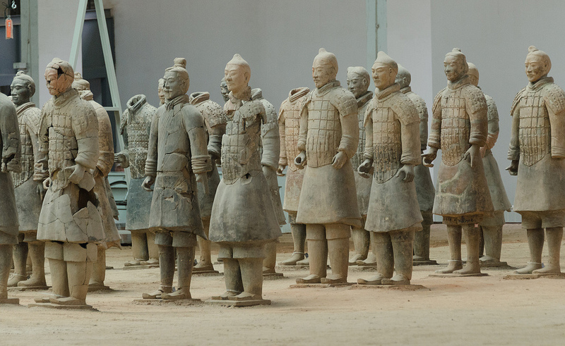 始皇帝陵と兵馬俑坑の画像19