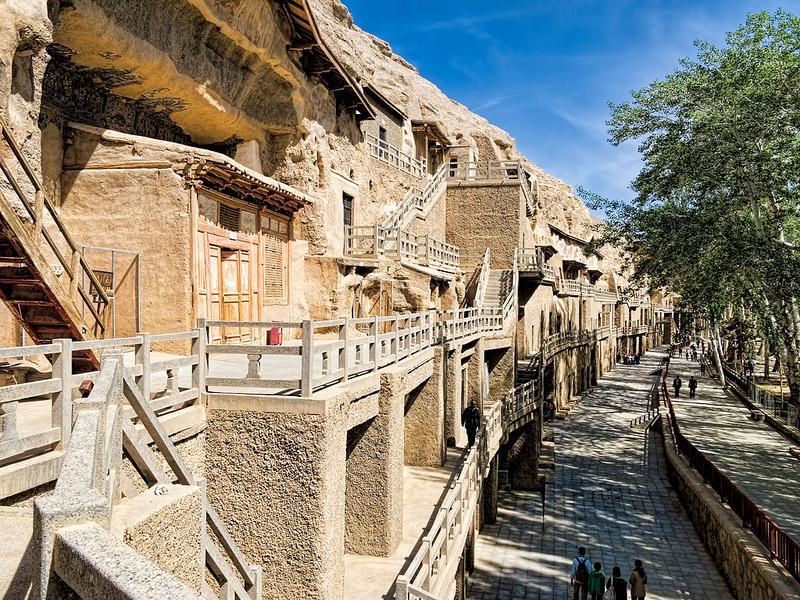 敦煌の莫高窟の画像6
