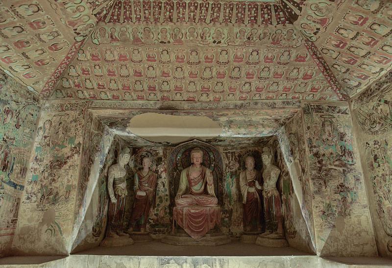 敦煌の莫高窟の画像8