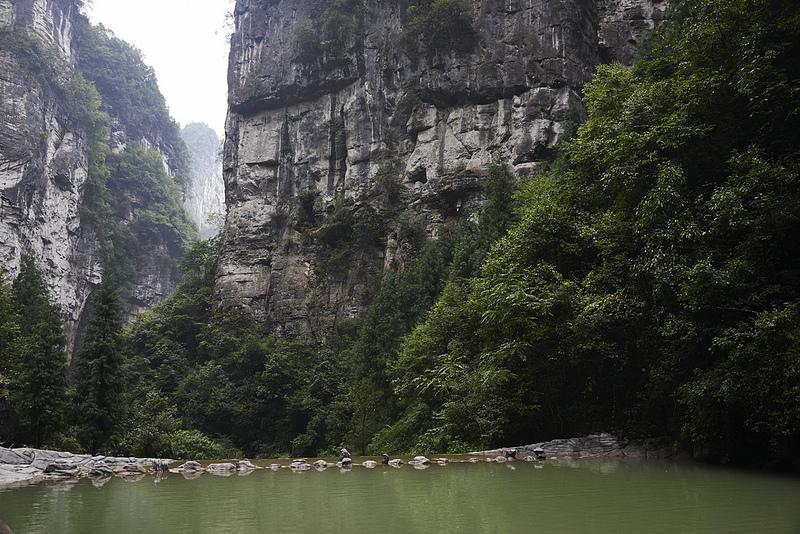 中国南部のカルスト地帯の画像4