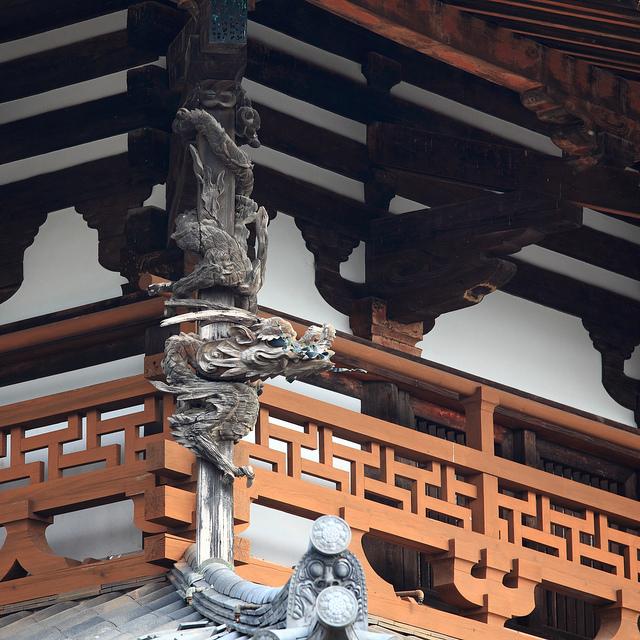 法隆寺地域の仏教建造物の画像14