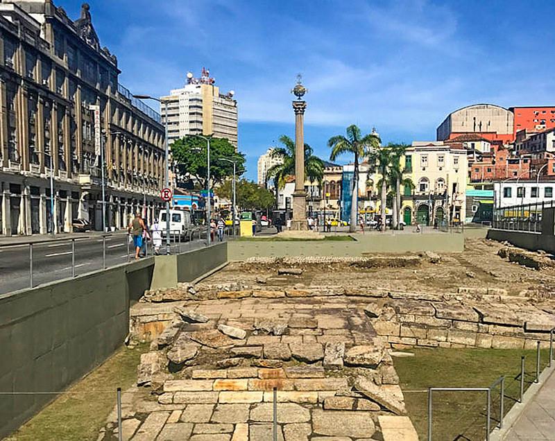 ヴァロンゴ埠頭の考古遺跡